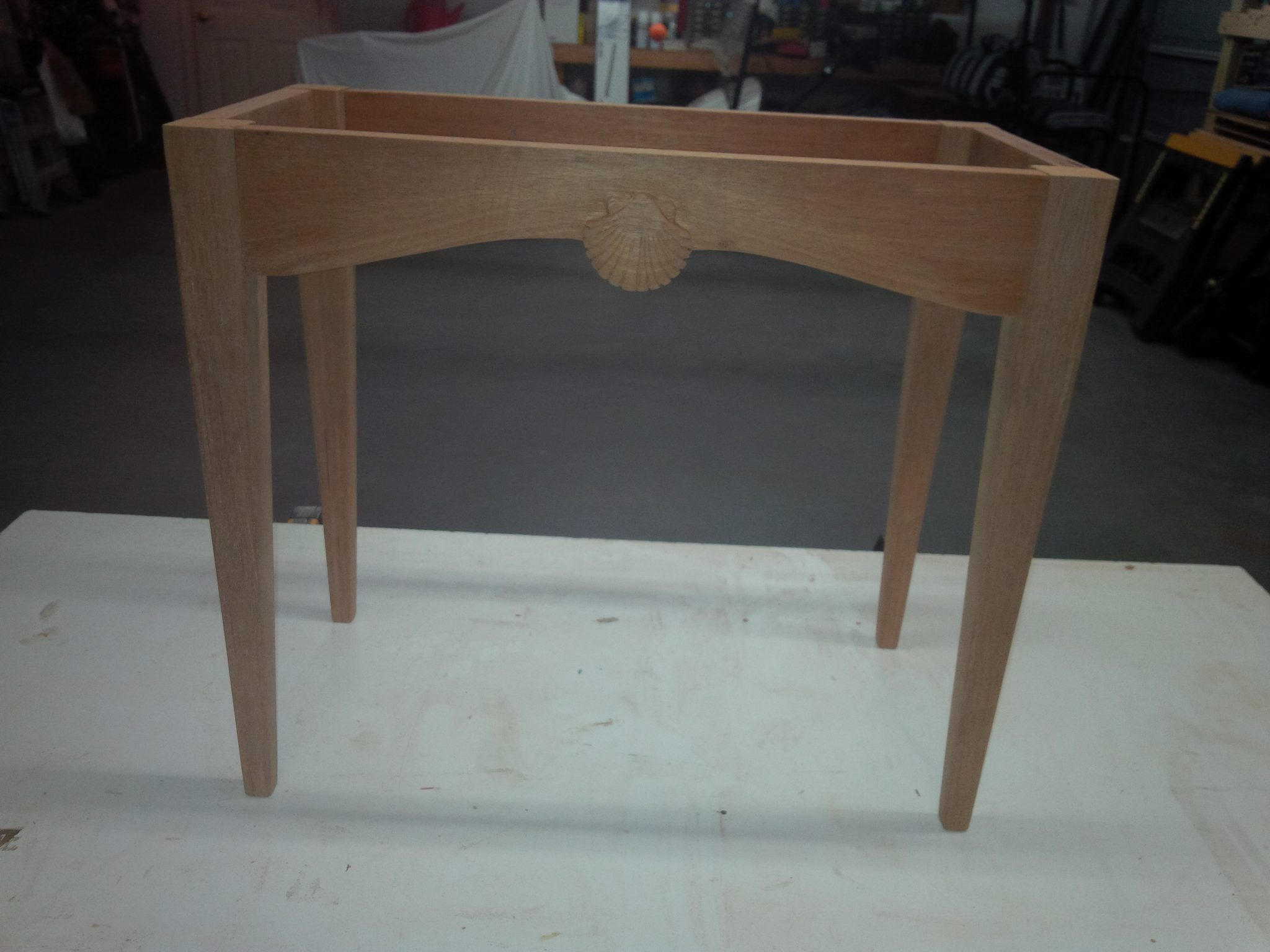 Mahogany Stand for Antique Campaign Chest