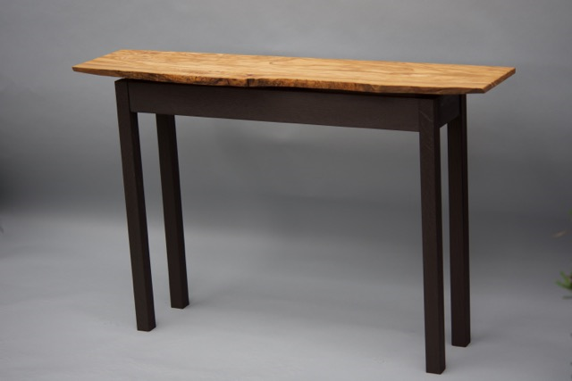 Live edge table from olive. Made for SAFEShelter